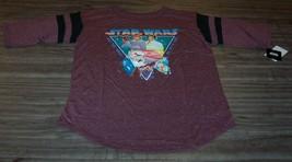 WOMEN'S TEEN STAR WARS NEW HOPE LUKE SKYWALKER PRINCESS LEIA T-shirt MED... - $19.80