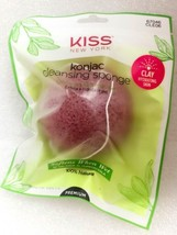KISS NEW YORK KONJAC CLEANSING SPONGE EXFOLIATE & REPLENISH SKIN CLAY CLE06 - $2.86