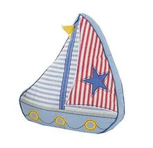 Cartoon Sailboat Decorative Pillow Toys Cotton Sofa Back Cushion Throw P... - $32.95