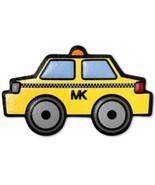 Michael Kors Amarillo y Negro Taxi Lux Bolso de Cuero Pegatina Nuevo - $12.86