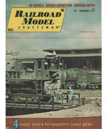 Railroad Model Craftsman Magazine February 1975 Easy Ways to Improve You... - $2.50