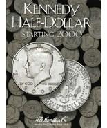 Kennedy Half Dollar Coin Folder Album #3, Starting 2000 by H.E. Harris - $8.49