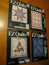 Lot 4 EZ Quilts patterns booklets Victorian Rising Sapphire Star and Bab... - $9.00
