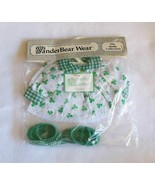NEW The Muffy Vanderbear Collection St Patrick's Day Outfit Muffeen Sham... - $23.99