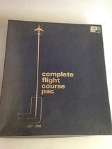 Vintage 1969 Jeppesen Complete Flight Course Pac Private Pilot Course - $83.94