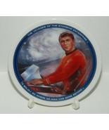 Star Trek The Original Series Scotty Mini Plate 1991 James Doohan Autograph - $96.74