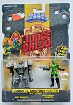 1995 Mattel Judge Dredd Mega Heroes Action Figure vs Machine #6 New SH 2 - $14.99