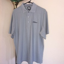 Men's Footjoy Titleist Ss Polo Sz Med Perfect Condition - $54.44