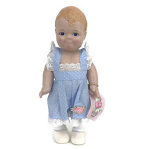 "Linda RIck The Doll Maker Lovey Dovey Baby Doll Boy Blue 12"" Vinyl - $23.33"