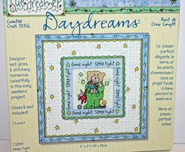 "Dimensions Sue Dreamer Counted Cross Stitch Sleep Tight Baby Nursery 8"" - $17.99"