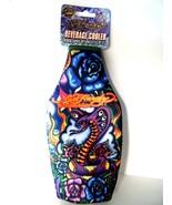 Ed Hardy Designs Zippered Beverage Cooler Cobra Snake Design New With Tag - $7.87