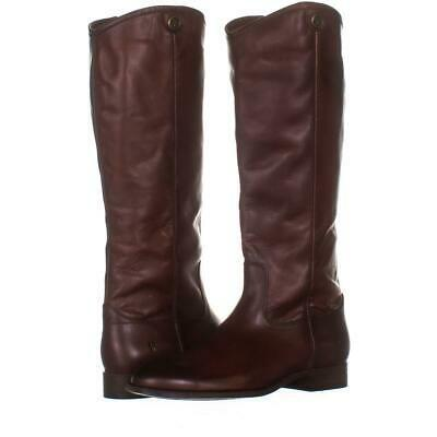 Primary image for FRYE Melissa Button 2 Tall Riding Boots 094, Redwood, 7.5 US