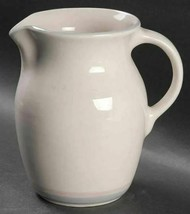 32 Oz Pitcher Aura Pink by PFALTZGRAFF Stoneware Height 6 1/8 in Pink Blue Gray - $25.23