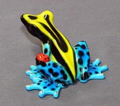 GORGEOUS BRONZE FROG FIGURINE SCULPTURE  Amphibian by Barry Stein - £310.00 GBP
