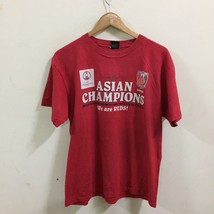 J League Urawa Reds Asian Champion Soccer Football T-Shirt Size L Red, J... - $29.69
