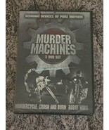 Murder Machines DVD Set (Murdercycle, Crash and Burn, Robot Wars) BRAND NEW - $13.98