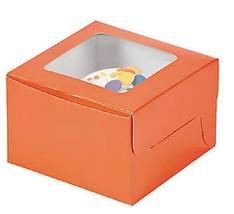Orange Cupcake Boxes (G5) - $5.70