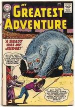 My Greatest Adventure #57 1961-DC Silver Age SCI-FI 1VG- - $37.83