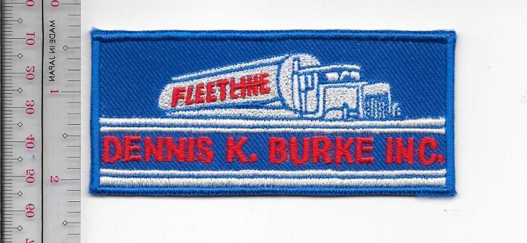 Vintage trucking   van lines massachusetts dennis k. burke  inc chelsae  ma  usa 12.99 blue
