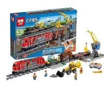 Lepin 02009 R/C City Heavy haul Train CITIES Blocks Set (1033pcs) - $94.00