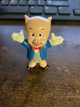 porky pig figurine collectible vintage - $20.00