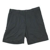 IZOD Perform X Golf Shorts Size 40 Waist Active Black Flat Front Ventilated - $11.23