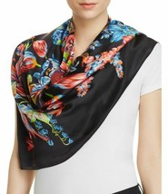 Echo Design Adelaide Floral Silk Square Scarf (One Size, Navy) - €96,51 EUR