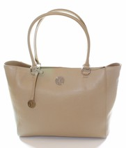 DKNY Donna Karan Sandstone Beige Tote Shopper Bag Handbag Medium - $290.22