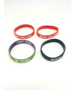 League of Legends Wristband Lot of 4 I Love Teemo Worth Ward's Save Live... - $38.69