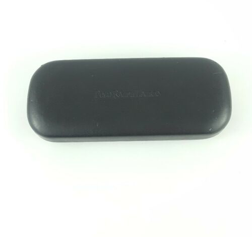 Polo Ralph Lauren glass sunglass Clambshell hard case black faux leather