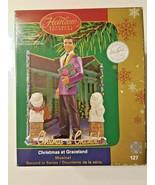 Carlton Cards Heirloom Elvis Presley Christmas at Graceland White Christ... - $36.86