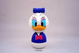 New! Daisy Duck Kokeshi Wood Doll Traditional Disney Limited Japan F/S - $93.49