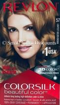 Revlon Colorsilk Beautiful Color w/ Keratin Hair Color #57 Lightest Golden Brown - $7.99