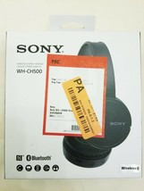 Sony WH-CH500 Stamina Wireless Headphones, Black (WHCH500/B) - $27.67