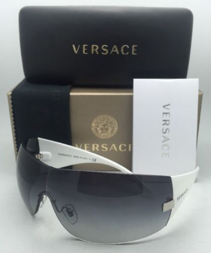 aaece99f2a New VERSACE Sunglasses VE 2054 1000 8G 115 and 23 similar items. 12