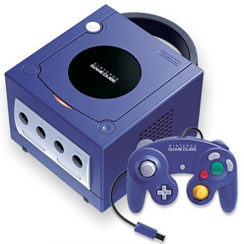 NINTENDO GAMECUBE CONSOLE Violet Purple Japan Model Digital AV Port Out