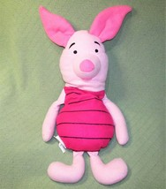 "30"" Winnie the Pooh PIGLET Plush Stuffed Pillow Animal Toy DISNEY Pink Lovie Toy - $23.38"