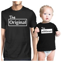Original And Mini Black Dad Baby Matching Outfits Gift For New Dads - $30.99+