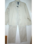 Gap Suit Separates Blazer Jacket Pants 6 Beige Khaki Tan Womens Nice Wor... - $40.00