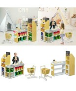 GROCERY STORE PLAYSET PRETEND PLAY SUPERMARKET SHOPPING SET - $244.69
