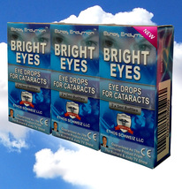 Ethos Endymion Bright Eyes NAC Eye Drops for Cataracts 3 Boxes 6 x5ml Bo... - $234.97