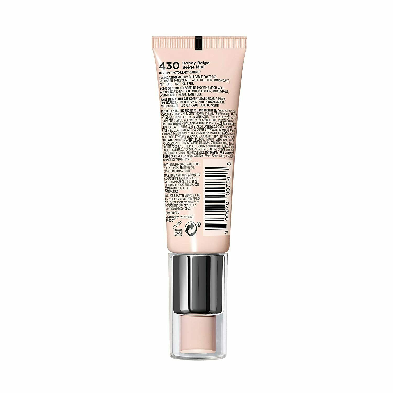 Primary image for Revlon PhotoReady Candid Natural Finish Foundation Many Shades You Choose NEW