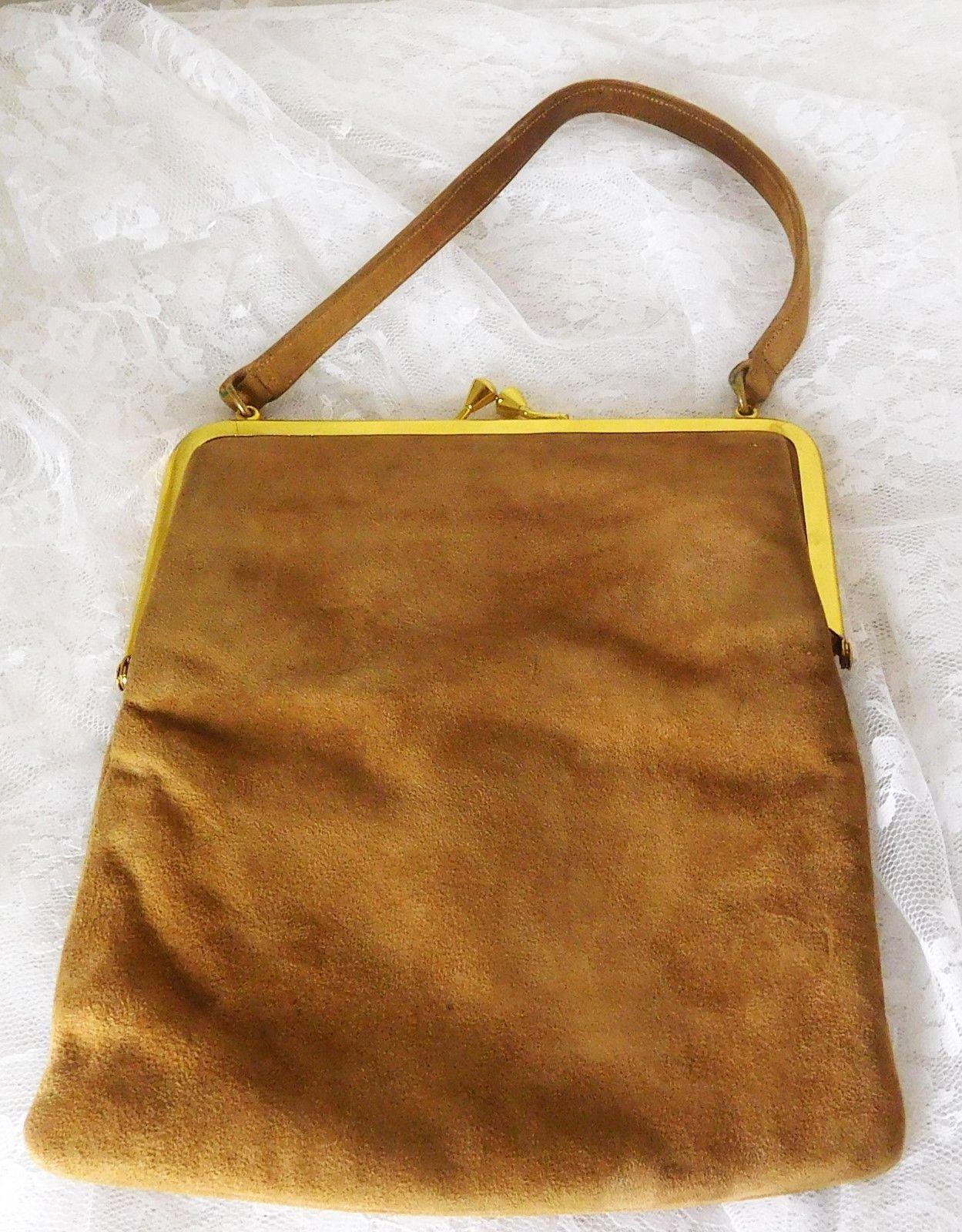 BLOCK Vintage Light Brown Suede Clutch Purse and 50 similar items. S l1600 52c0ebc0740d2