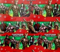 NEW Guardians of the Galaxy Gift Wrap 70 sq ft American Greetings Wrappi... - $14.84