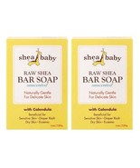 Shea Baby Bar Soap Unscented with Calendula 2 Bar Pack - $8.86