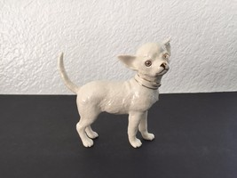 Vintage LENOX Ivory CHIHUAHUA White Gold Porcel... - $45.00