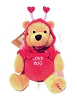 Disney Store Exclusive Stuffed Animal Plush Winnie The Pooh Bear Firefly... - $10.32