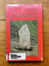 """Vintage 1985 """"China Homecoming"""" by Jean Fritz Ex Library w/ Dust Cover - $11.29"""