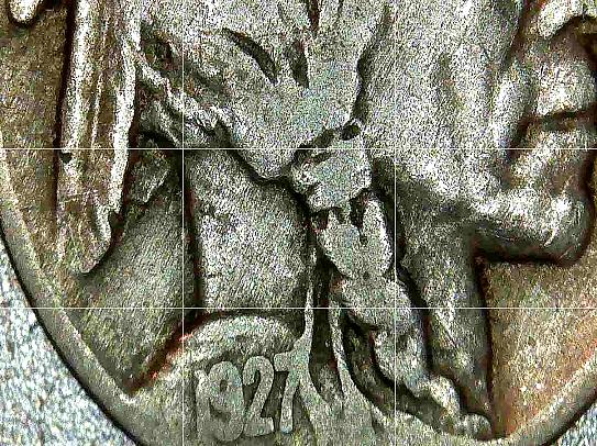 Buffalo Nickel 1927, 1928 and 1929 AA20BN-CN6078
