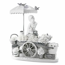 Lladro Porcelain Retired 01007030 Flowers Of The Season (RE-DECO) 7030 New - $2,297.35